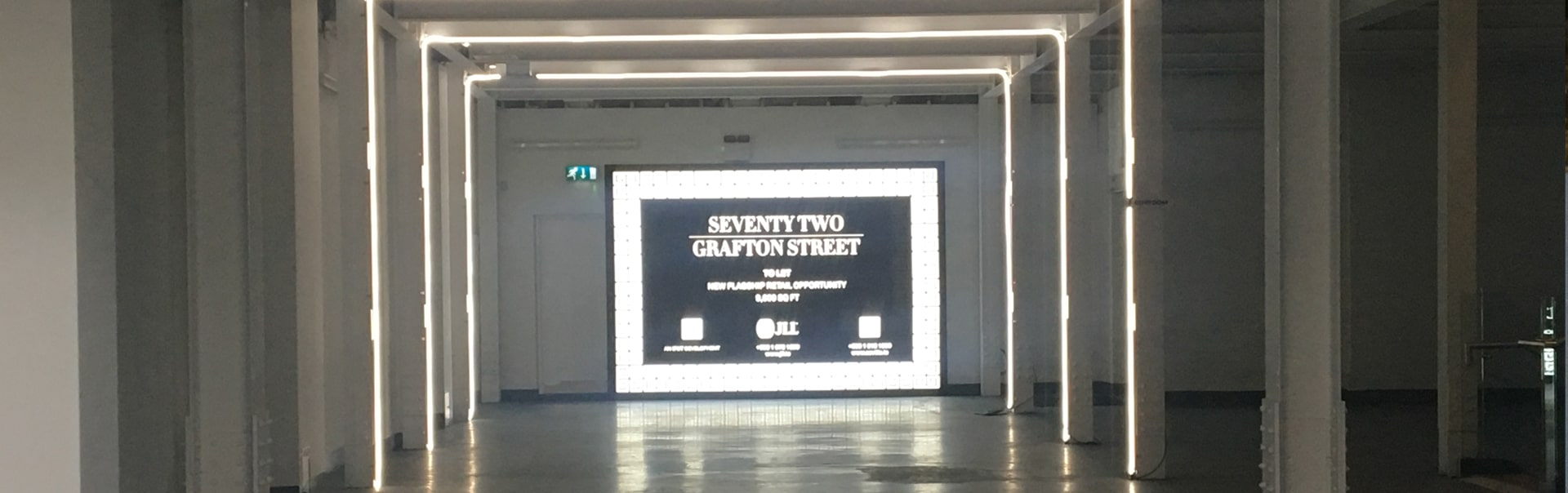 Lightbox Signs | 72 Grafton Street | Flex Face Lightbox