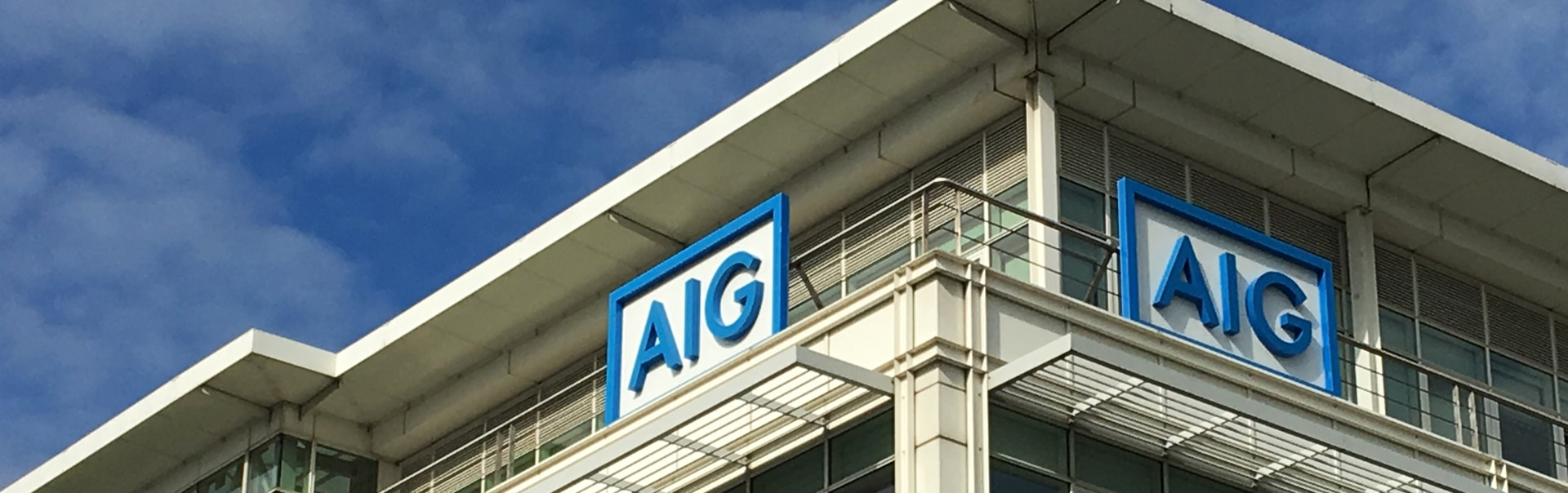 AIG Face Lit Illuminated Letters
