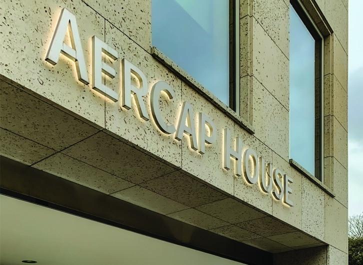 Aercap House | Halo Lit Sign