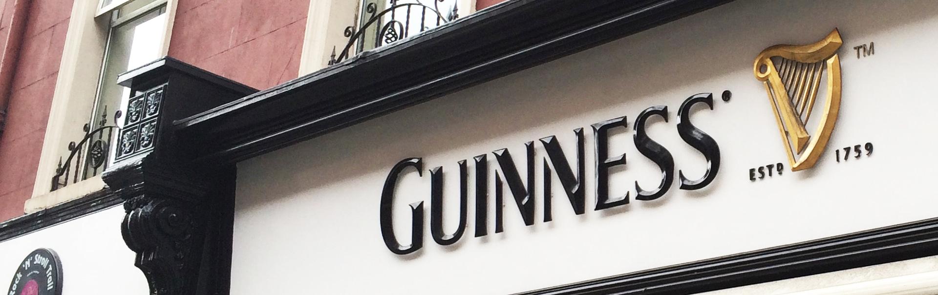 Guinness Logo | Foamex Letters