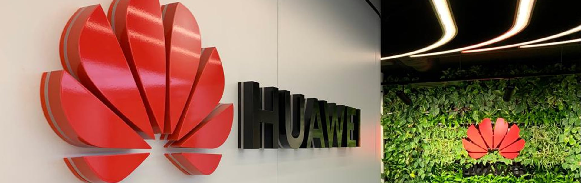 Huawei Logo Sign | Side Lit Letter Sign