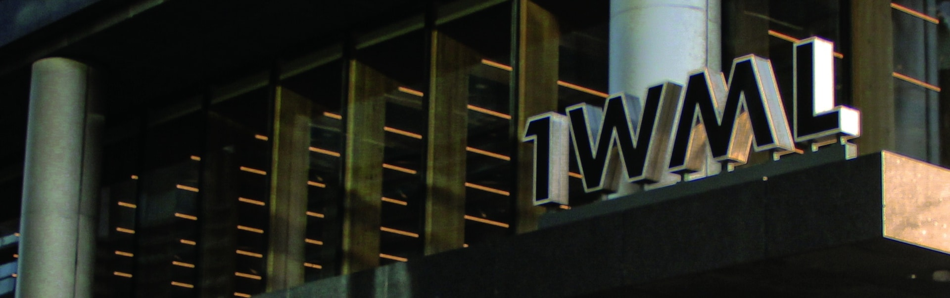 1WML Building Sign | Canopy Signs