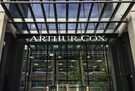 Arthur Cox   Stainless Steel Signs