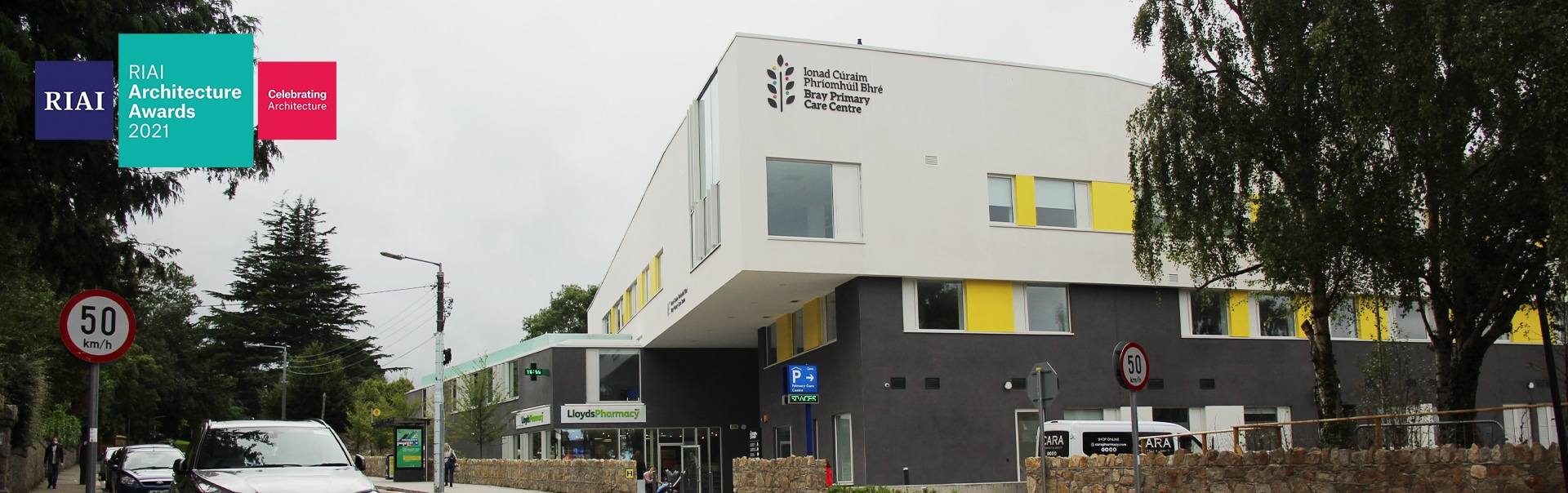 Entrance sign at the RIAI Commended care centre at Bray