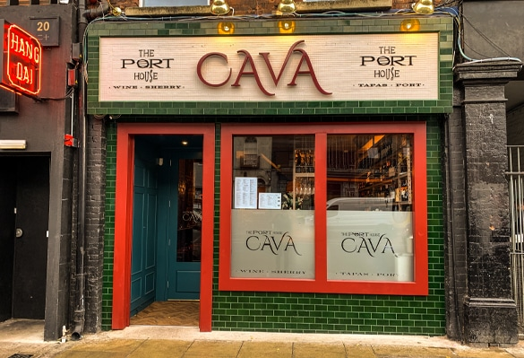 Port House Cava Restaurant | Illuminated Logo Sign