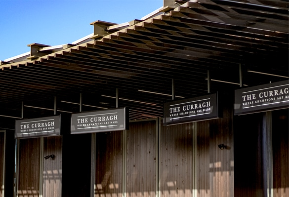 The Curragh Racecourse   Hanging Signs