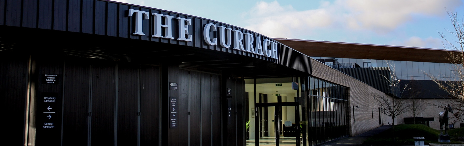 The Curragh Racecourse | Outdoor Sign | Entrance Sign