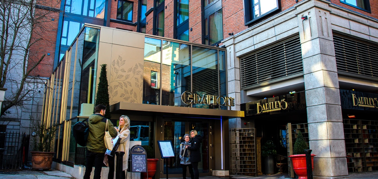 The Grafton Hotel | Entrance Sign
