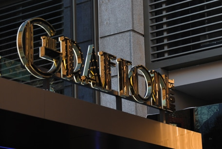 Grafton Hotel | Canopy Sign