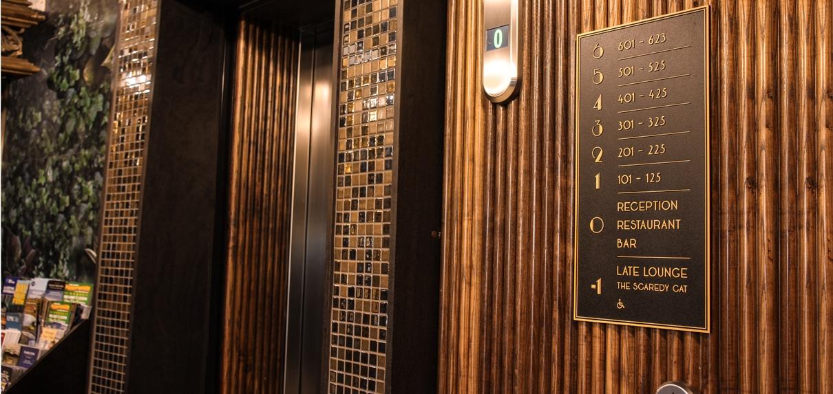 Grafton Hotel | Lift Directory