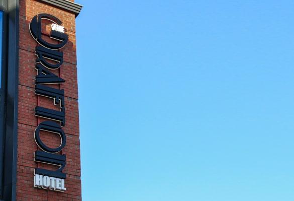 The Grafton Hotel | Skyline Sign