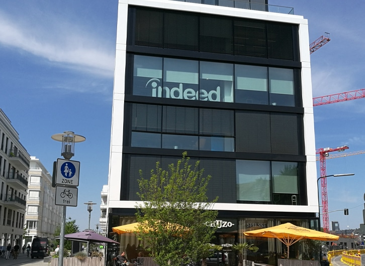 Indeed Logo Sign | Monument Signs