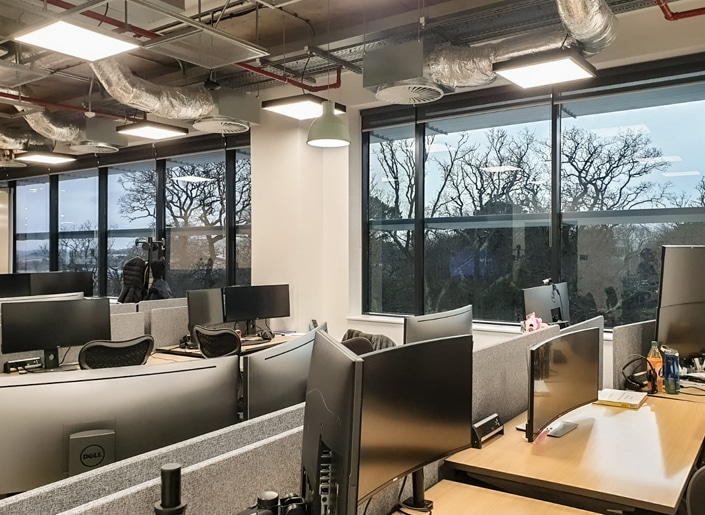 Solar control window film increases comfort and privacy at Microsoft Ireland offices