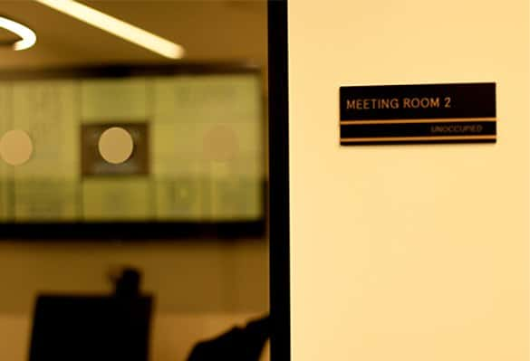 Capital Dock | Meeting Room Signs