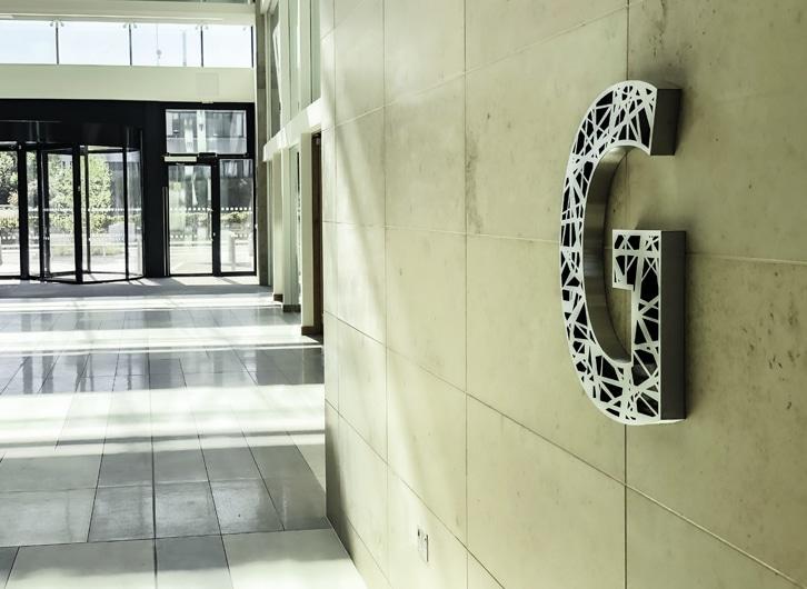 Floor ID Sign | Lobby Sign