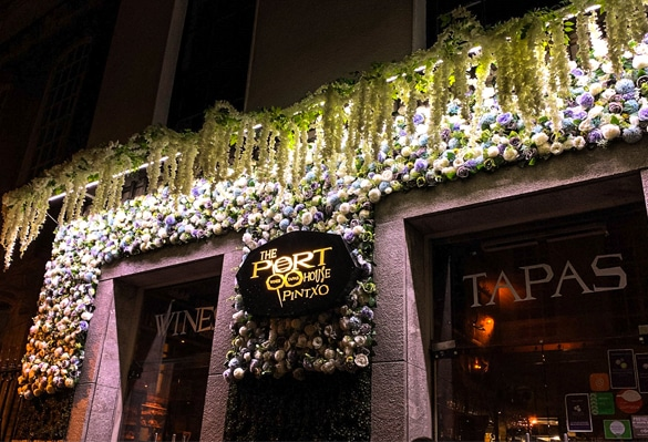 Port House Restaurants   Face Lit Signs