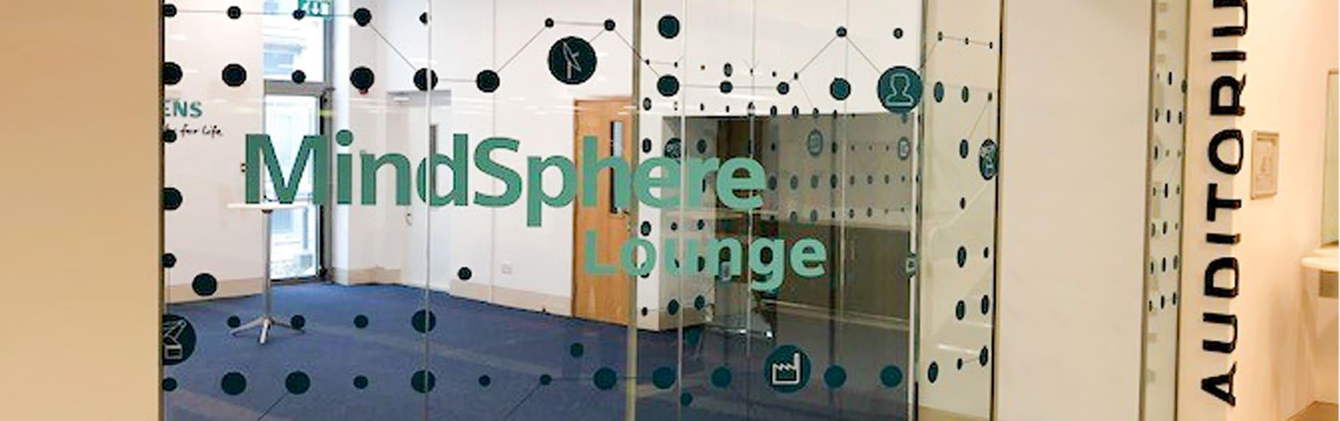 Cut-vinyl-branding_at_Siemens_Mindsphere, DCU Alpha, Dublin